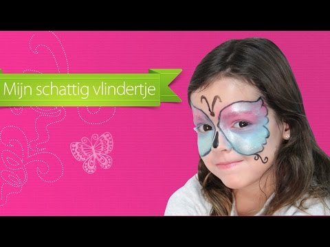 Tutorial vlinder make-up