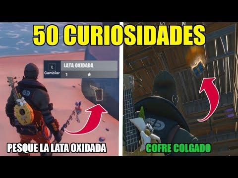 50 CURIOSIDADES de FORTNITE CAPITULO 2 que NO SABIAS