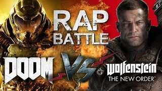 Рэп Битва - DOOM 4 vs. Wolfenstein: The New Order
