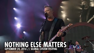 Metallica - Nothing Else Matters (Live — Global Citizen — New York, NY — 2016)