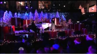 "[HD]Charice ""Jingle Bell Rock"" & David Foster @ Rockefeller Center, New York= 11/30/10"