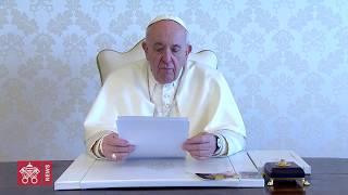 Videomessaggio del Papa per la Settimana Santa