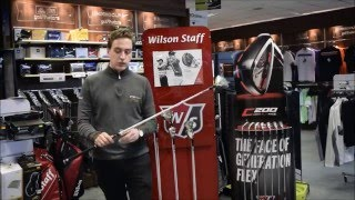 Wilson Staff FG Tour F5 Fairway - A stunning head design