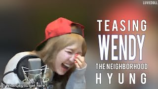 Red Velvet Wendy | Teasing Wendy (or Wendy sacrificing herself to make others laugh) | 레드벨벳 웬디