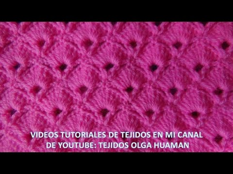 search result youtube video puntos tejidos a crochet