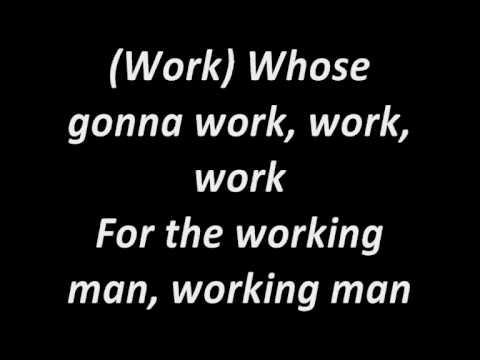 Bon Jovi - Work For The Working Man Lyrics