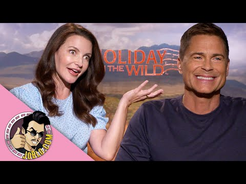 Rob Lowe and Kristin Davis Interview for Holiday in the Wild