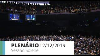 Plenário - Homenagem à Igreja Evangélica Assembleia de Deus Ministério de Madureira no Brasil - 12/12/2019 11:00