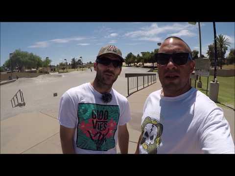 The Wedge Skate Park Full Skate Park Tour Scottsdale, Arizona (Phoenix)