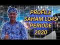Profile Saham LQ45 Periode 2020