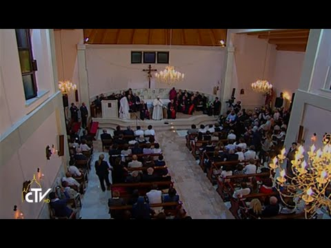 Rencontre du Pape avec des enfants de centres caritatifs albanais