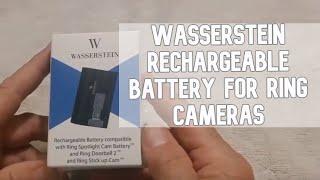 Wasserstein Rechargeable Battery for Ring Cameras DIY video #diy #ring #wasserstein #doorbell
