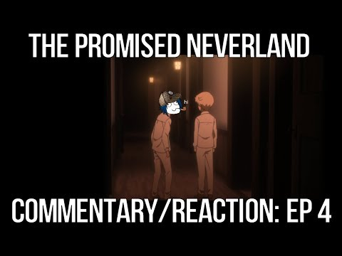 COMMENTARY/REACTION F/TOM - THE PROMISED NEVERLAND - EP 4; S:1