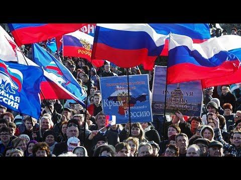 Крымская весна - Вальс Победы (песня в клипе) Исполняет трио «Россия»