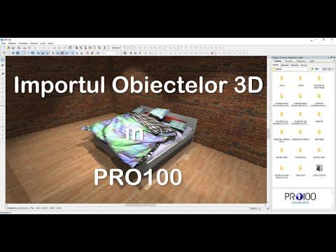 PRO100   Importul Obiectelor 3D in PRO100