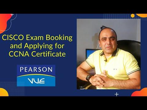 How to book CISCO exam and apply for CCNA Certificate | Exam ...