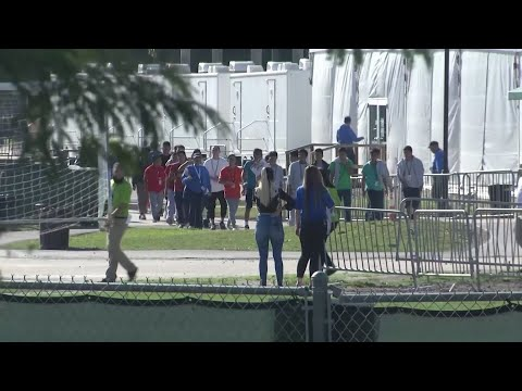 Members of congress are shocked after touring a minor migrant detention facility. Some children have been held 9 months after being separated from their families at the border. (Feb. 19)