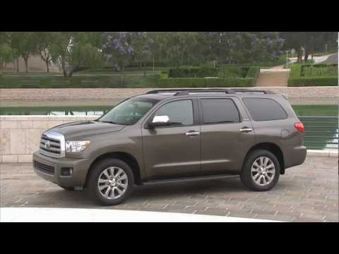 2013 Toyota Sequoia official video