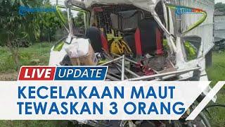 Kecelakaan Maut di Minahasa Selatan Renggut 3 Nyawa, Sopir Truk Tabrak Truk yang Antre BBM