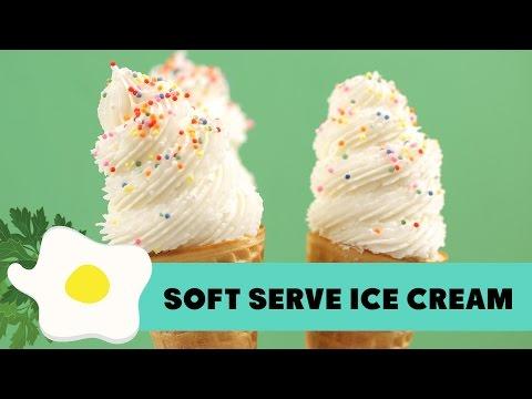 Video Resep Soft Serve Ice Cream