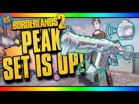 DIGI-PEAK EFFERVESCENT SET - New DLC [Borderlands 2]
