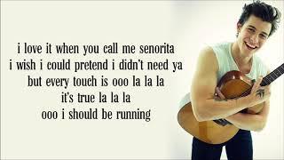Shawn Mendes   Señorita Lyrics Ft   Camila Cabello  1080 X 1920