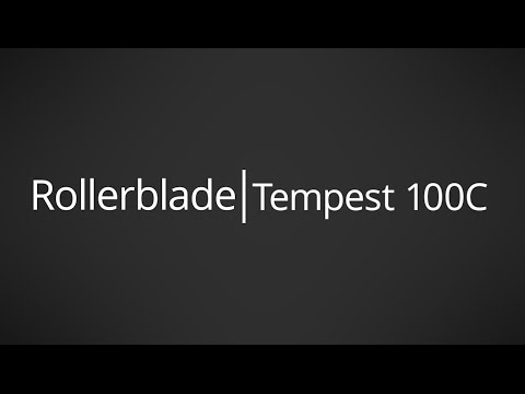 Video: 2017 Rollerblade Tempest 100 C Mens and Womens Inline Skate Overview by InlineSkatesDotCom