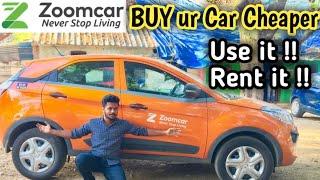 Buy ur New Car Cheaper & Rent it    Zoom Car    ZAP    Chennai Vlogger Deepan - Tamil