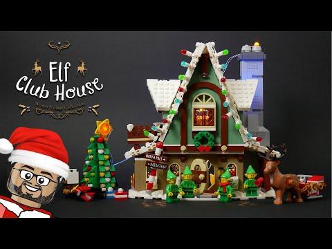 Vidéo LEGO Creator 10275 : Le pavillon des elfes