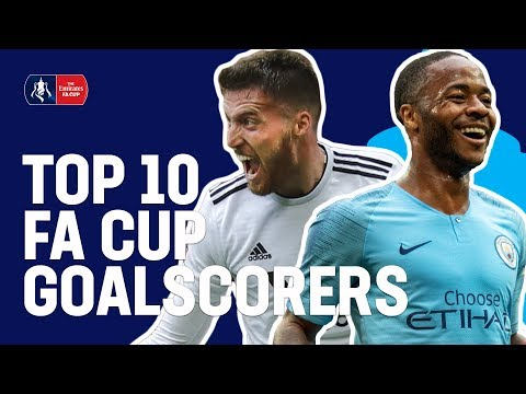Top 10 Goalscorers | Emirates FA Cup 18/19