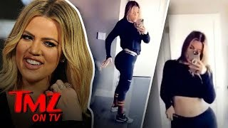 Khloe Kardashian Getting Bashed For Working Out Too Much?! | TMZ TV - Video Youtube