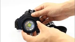 Налобний ліхтар Police T70-HP70
