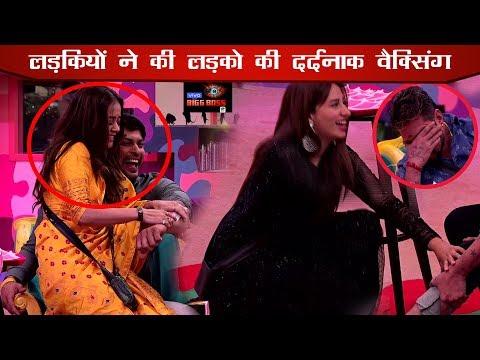 Bigg Boss 13 Hindustani Bhau & Siddharth Shukla Screams On Waxing Task   Salman Khan Punishment Task