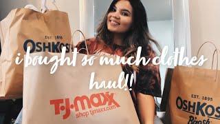 Baby Girl Haul 2020!! • Carters, Tjmaxx, Oshkosh • Clothing Haul 💗