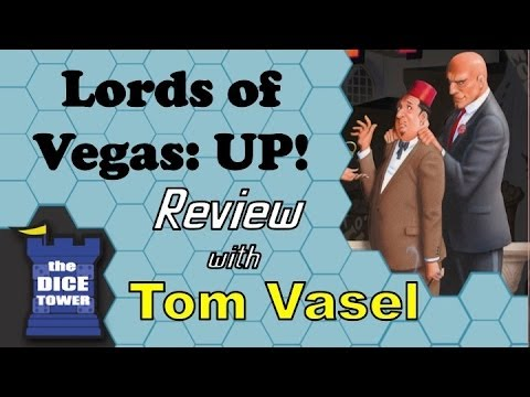 Dice Tower Reviews: Lords of Vegas: UP!