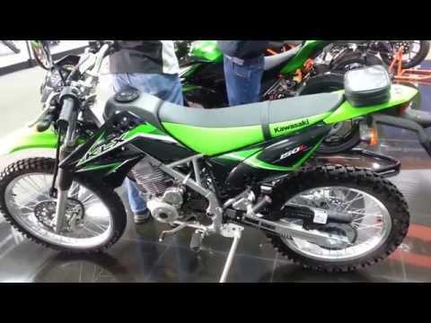 2015 Kawasaki KLX 150 L Caracteristicas Precio Colombia Walkaround