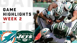 Dolphins vs. Jets Week 2 Highlights | NFL 2018