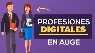 20 profesiones digitales que están en auge 2020 - 2030