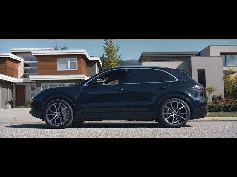 Porsche  Cayenne  Паркетник класса J - рекламное видео 4