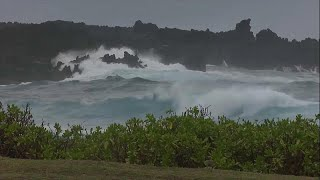 Hatalmas Vihar Csapott Le Hawaii-ra