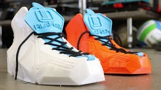 Awesome 3D Printed Flexible Shoes