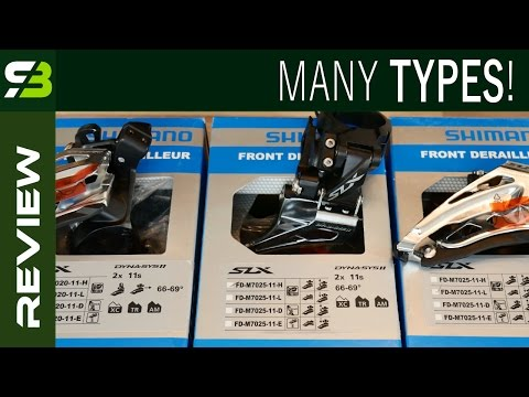 Front Derailleur Types And Mounts: Top / Down Swing, Side Pull, Direct Mount, E-Type...
