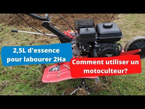 Labourer 2ha avec 2.5L d'essence, comment utiliser un Motoculteur ? Labourer 2ha avec 2.5L d'essence, comment utiliser un Motoculteur ?