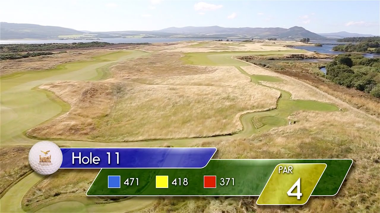 Carnegie Links Hole 11 - YouTube video