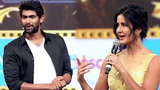 Katrina Kaif Makes Cute Imitation Of Rana Daggubati