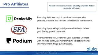 Alula Pro Updates webinar
