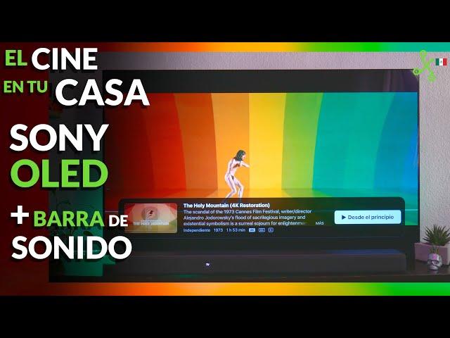 Sony A8H, la HEMOS PROBADO: OLED con negros perfectos para tu CINE en CASA