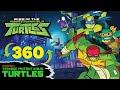 Epic 360 Ninja Turtles Rooftop Laser Battle Rise Of The