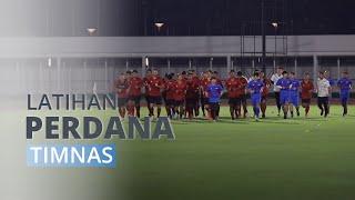 Latihan Perdana Timnas Indonesia di Stadion Madya Senayan Jelang Laga Kualifikasi Piala Dunia 2022