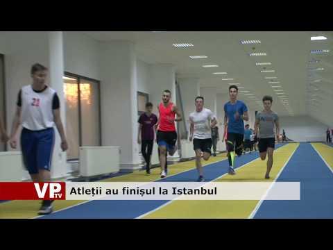 Atleții au finișul la Istanbul
